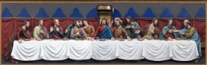 Lady Chapel Reredos 'The Last Supper'A