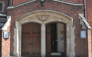 The Entrance to St Joseph's