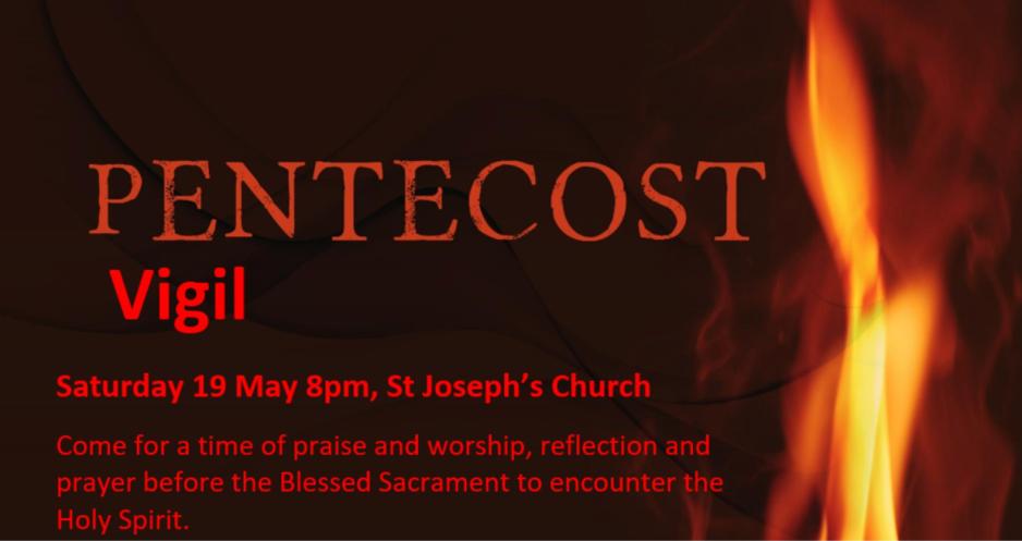 Pentecost vigil poster